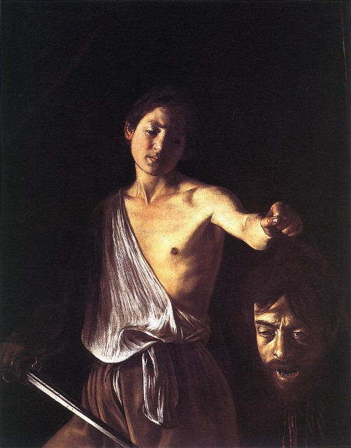 There Caravaggio st john the baptist the nude